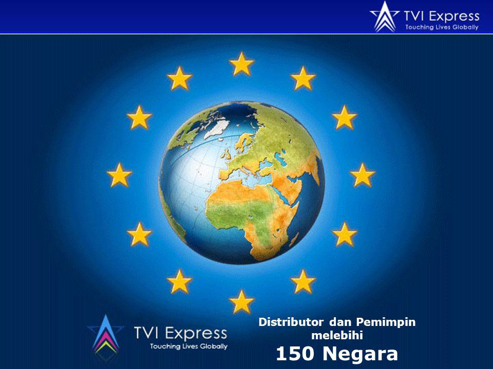 Distributor dan Pemimpin melebihi 150 Negara