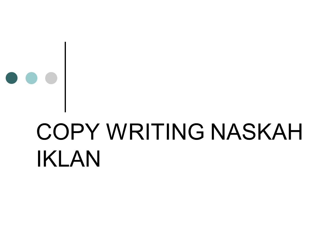 Pengertian dan Makna Copywriting Seni penulisan pesan penjualan yang paling persuasif dan kuat.