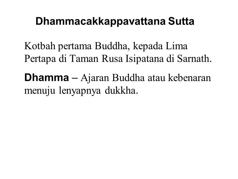 Empat Kebenaran Mulia 1.All beings are subject to Dukkha.