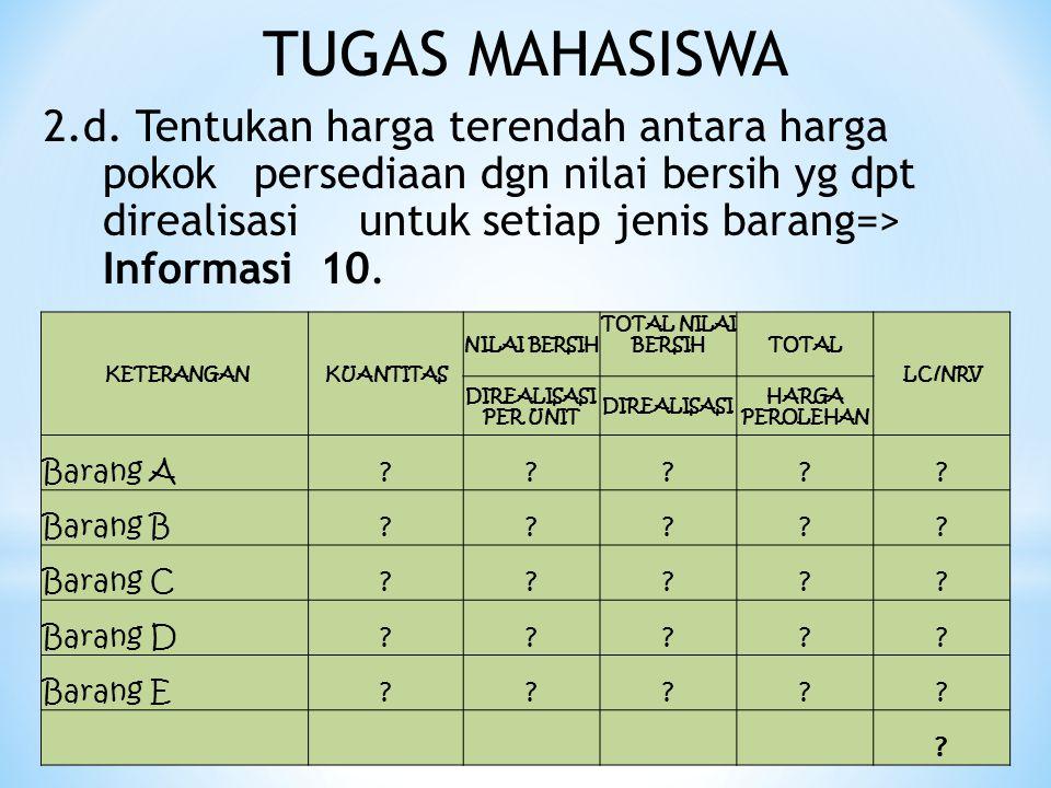 TUGAS MAHASISWA 2.d.