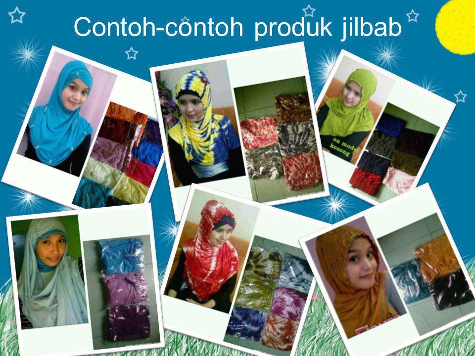 Contoh-contoh produk jilbab