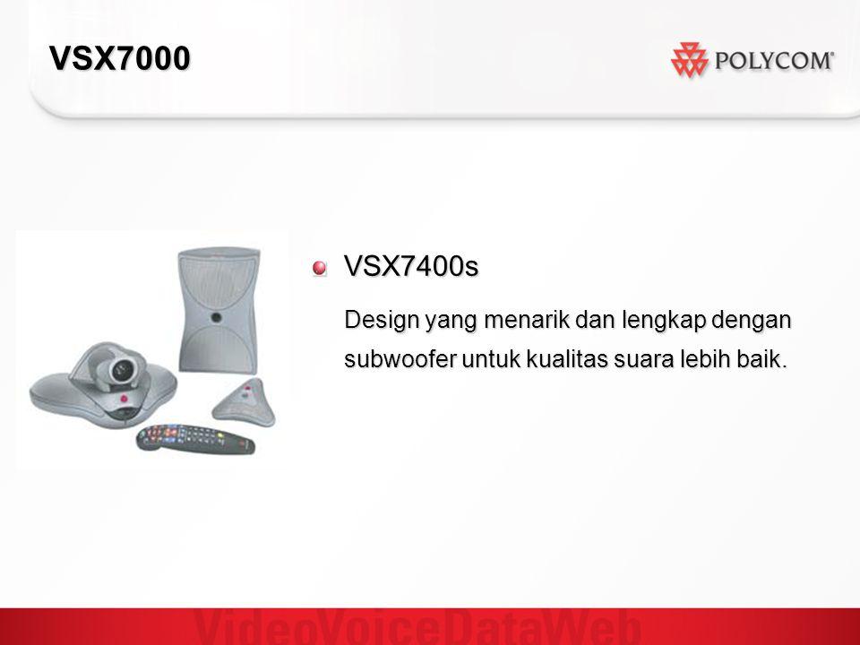 VSX7000 VSX7400s Design yang menarik dan lengkap dengan subwoofer untuk kualitas suara lebih baik.