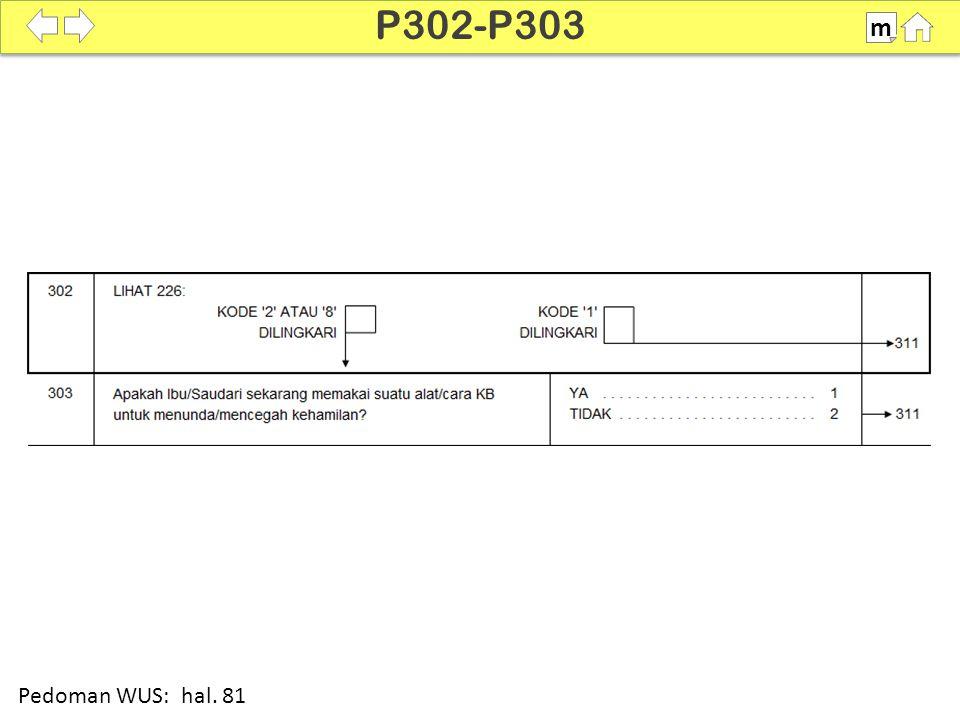 100% SDKI 2012 P302-P303 m Pedoman WUS: hal. 81