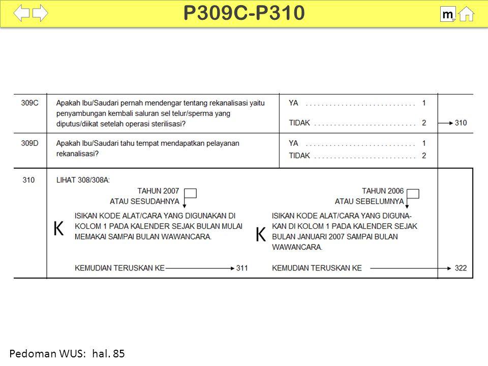 100% SDKI 2012 P309C-P310 m Pedoman WUS: hal. 85