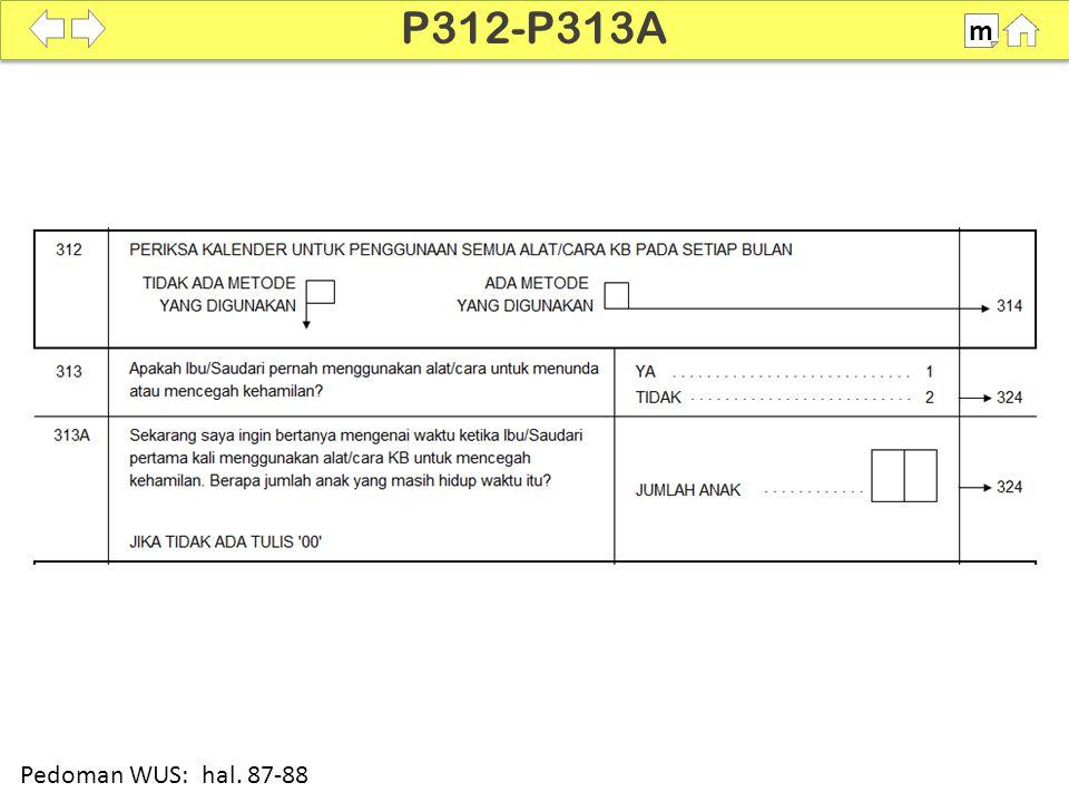 100% SDKI 2012 P312-P313A m Pedoman WUS: hal. 87-88