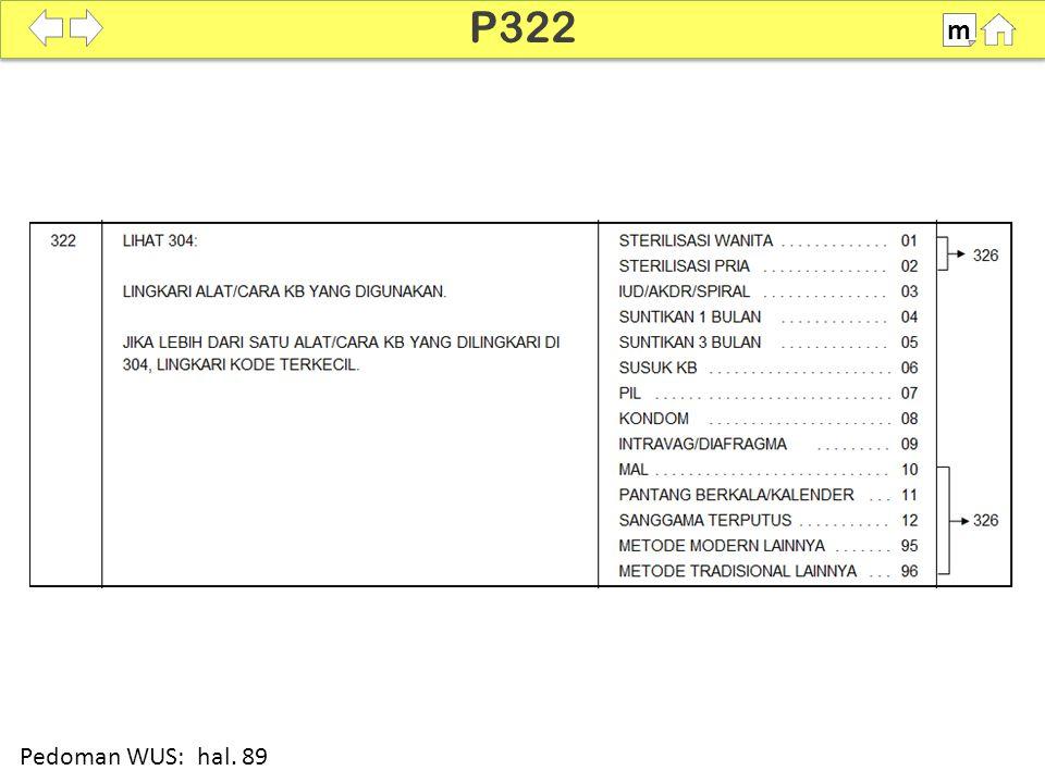 100% P322 m Pedoman WUS: hal. 89