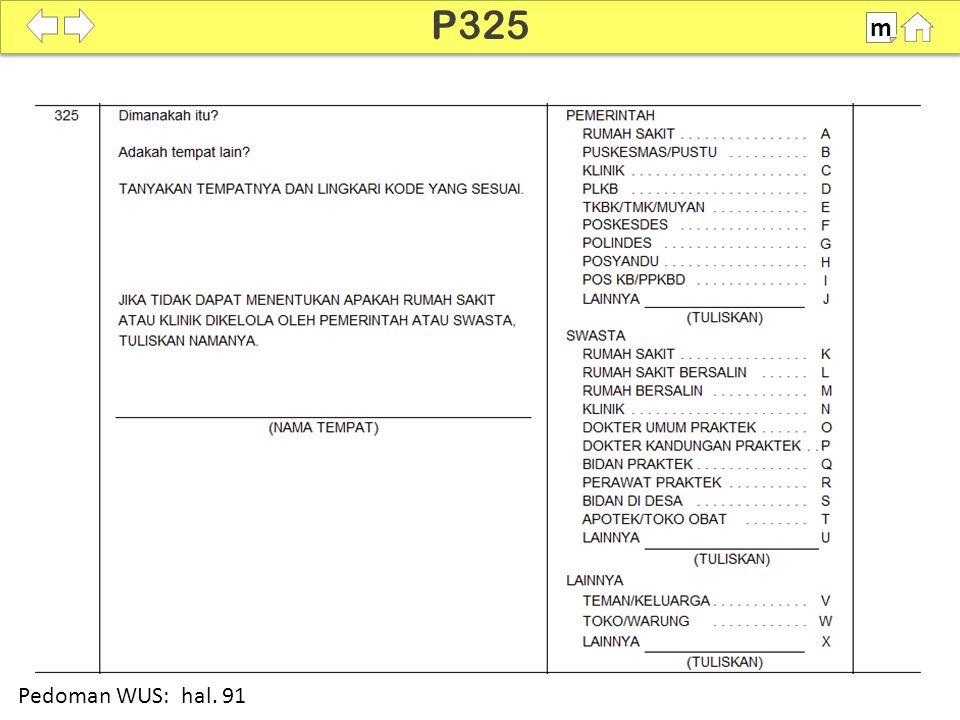 100% SDKI 2012 P325 m Pedoman WUS: hal. 91