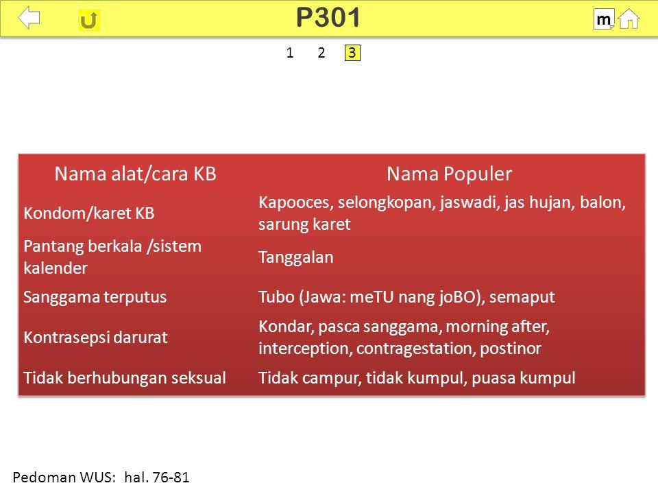 100% P301 m Pedoman WUS: hal. 76-81