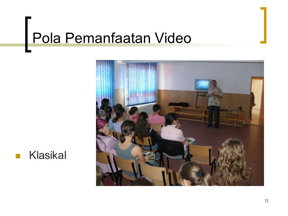 11 Video mempresentasikan bahasa yang lebih natural daripada buku pelajaran, mempermudah siswa untuk menyimak dan memahami, dan tentunya disukai mayor