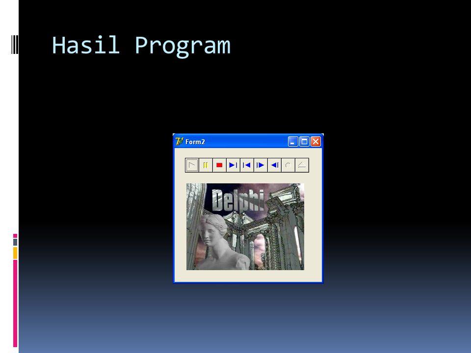 Hasil Program