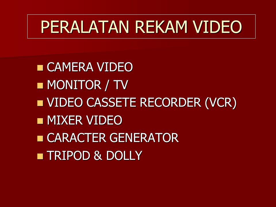 PERALATAN REKAM SUARA  MICROPHONE  TAPE RECORDER  OPEN REEL  MIXER AUDIO  EQUALIZER  SPEAKER / HEADSET