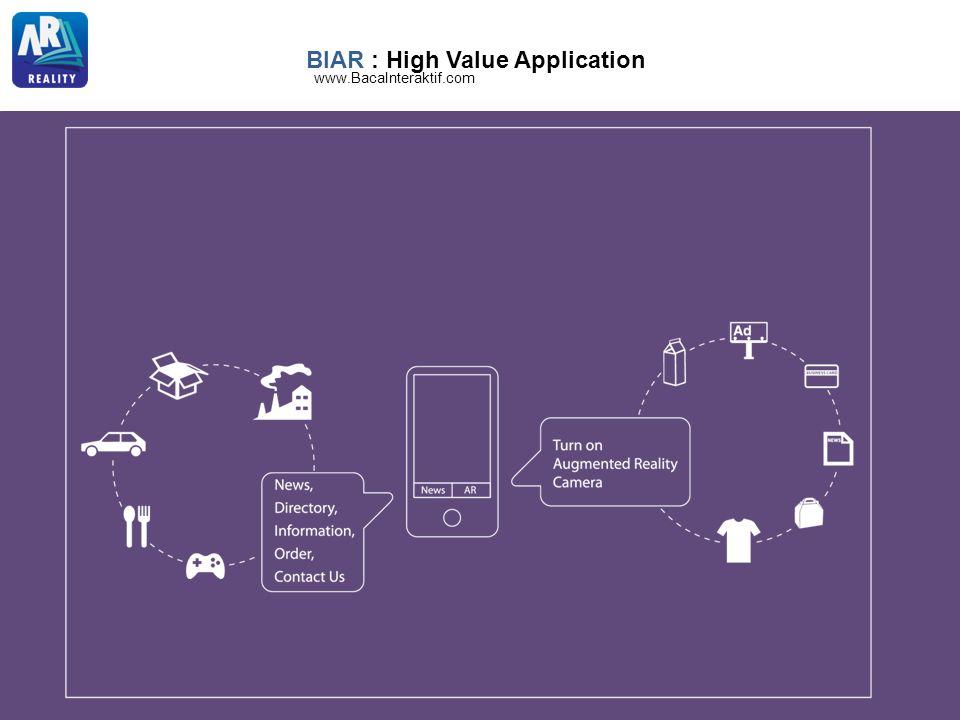 BIAR : High Value Application www.BacaInteraktif.com