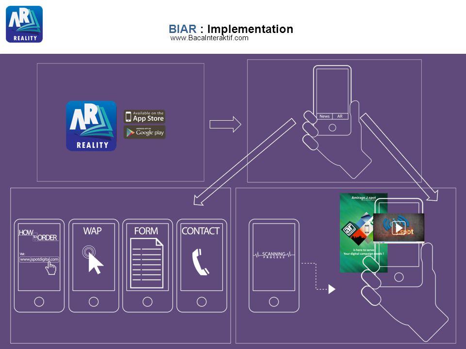BIAR : Implementation www.BacaInteraktif.com