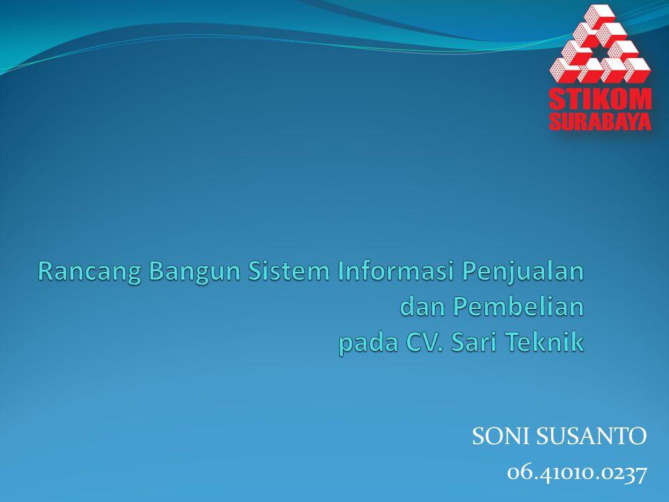 SONI SUSANTO 06.41010.0237