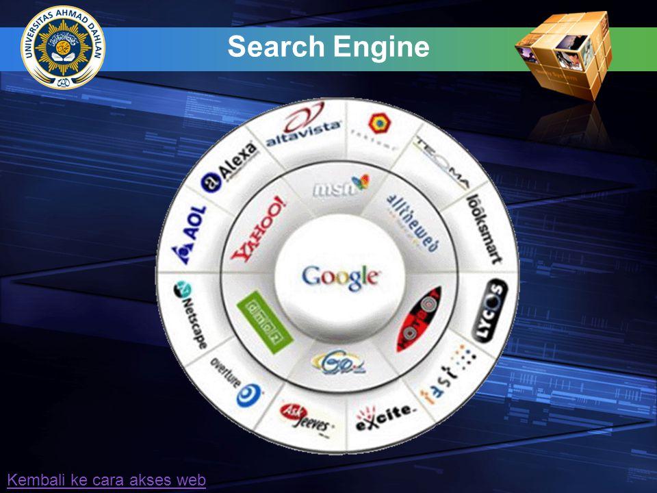 Uniform Resources Locator Website juga dapat diakses dengan menggunakan alamat IP contoh: http:// 72.14.203.99  alamat website Google dlm format IP