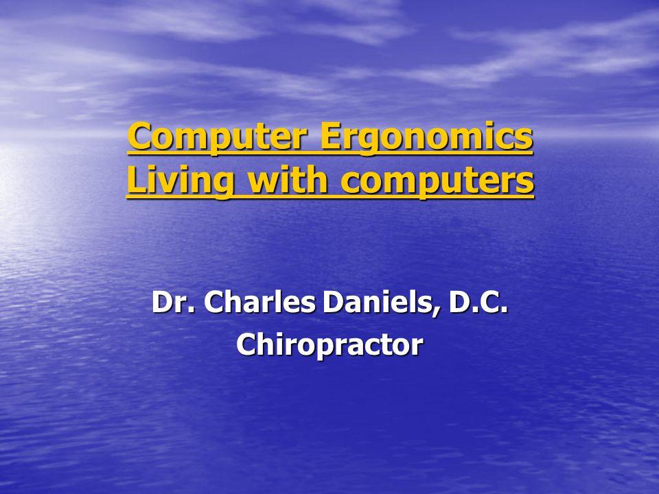 Ide besar • Menggunakan komputer tanpa problem kesehatan yang mengurangi kesenangan atau menurunkan produktivitas.