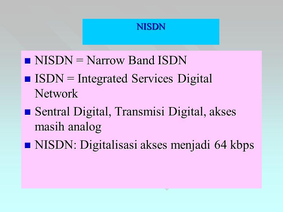SMDS Switched Multimegabit Data Service SMDS adalah high speed data service yang dikembangkan oleh Belcore dan dikenalkan dengan jenis layanan connectionless atau datagram.