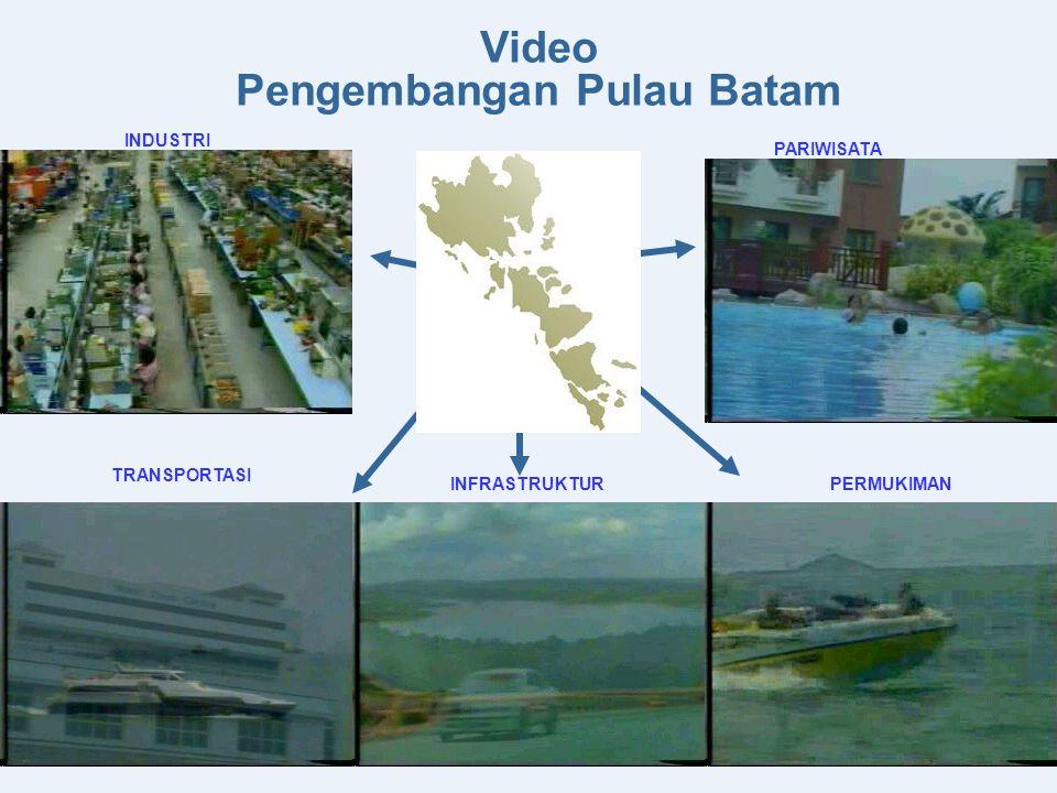 Laut dan dermaga di Kota Batam