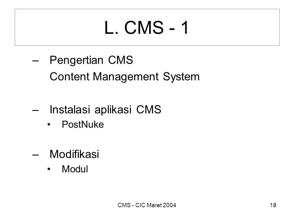 CMS - CIC Maret 200418 L.