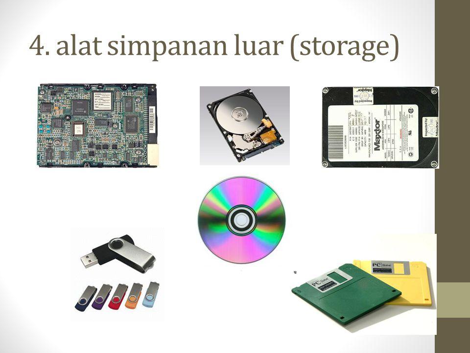 4. alat simpanan luar (storage)
