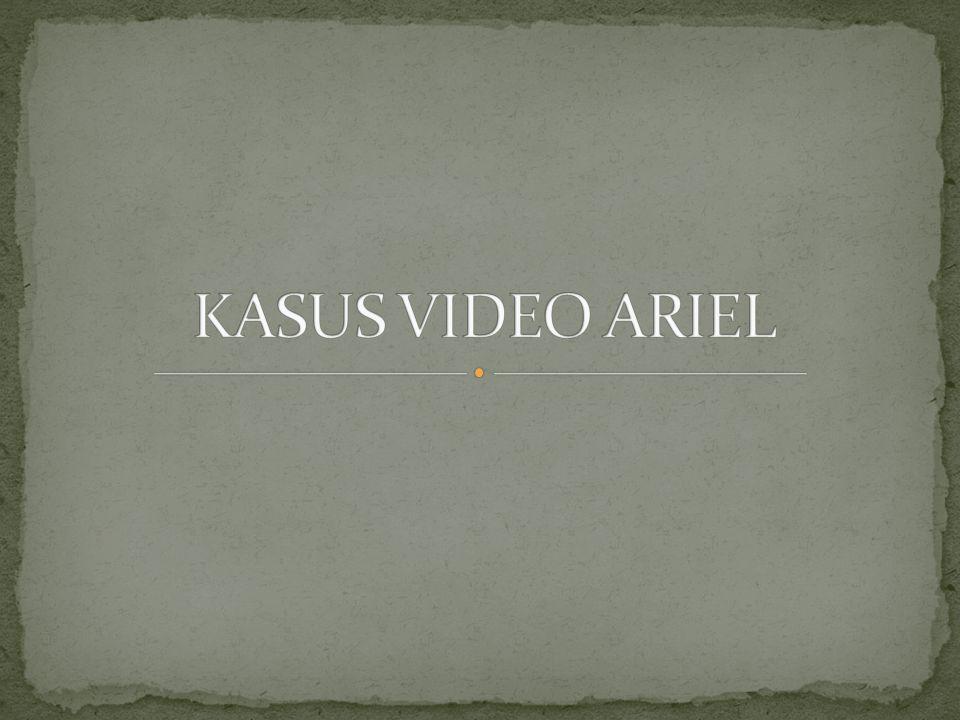  Awal Juni, tepatnya 3 Juni 2010, Ariel tersandung isu video porno mirip dirinya bersama Luna Maya yang saat ini menjadi kekasihnya, dan juga Cut Tari.