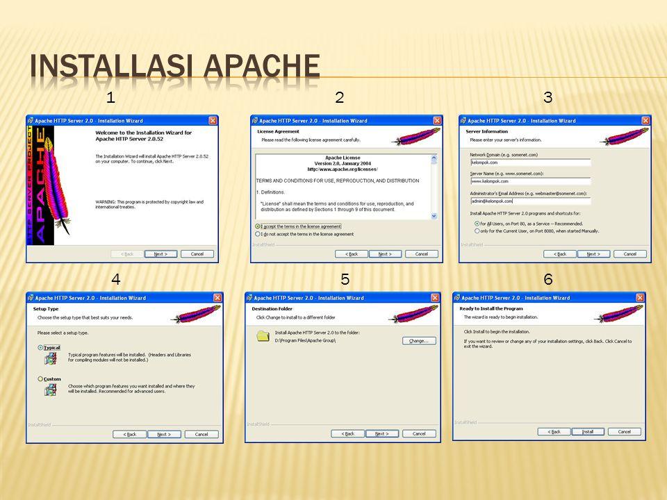 1.Bukalah File installasi Namo Web editor 8 2.Pada License aggreement klik yes untuk memulai installasi 3.Pilihlah tempat installasi Namo 4.Pada pilihan type installasi,pilihlah complete 5.Klik next untuk memulai installasi & tunggu sekitar 3 menit hingga installasi selesai