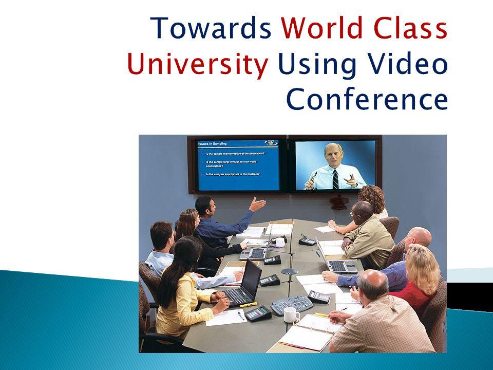  Seluruh peralatan konferensi sebaiknya disediakan pada kelas khusus yang telah menunjang semua sisi teknologinya.