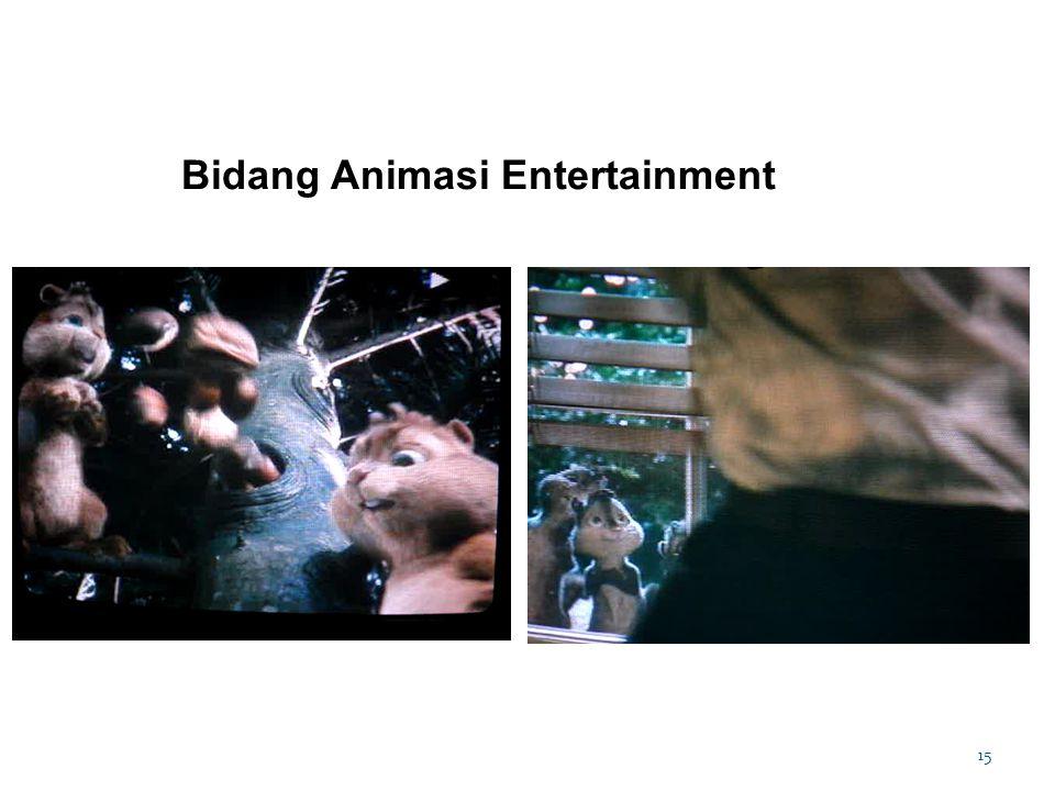 15 Bidang Animasi Entertainment