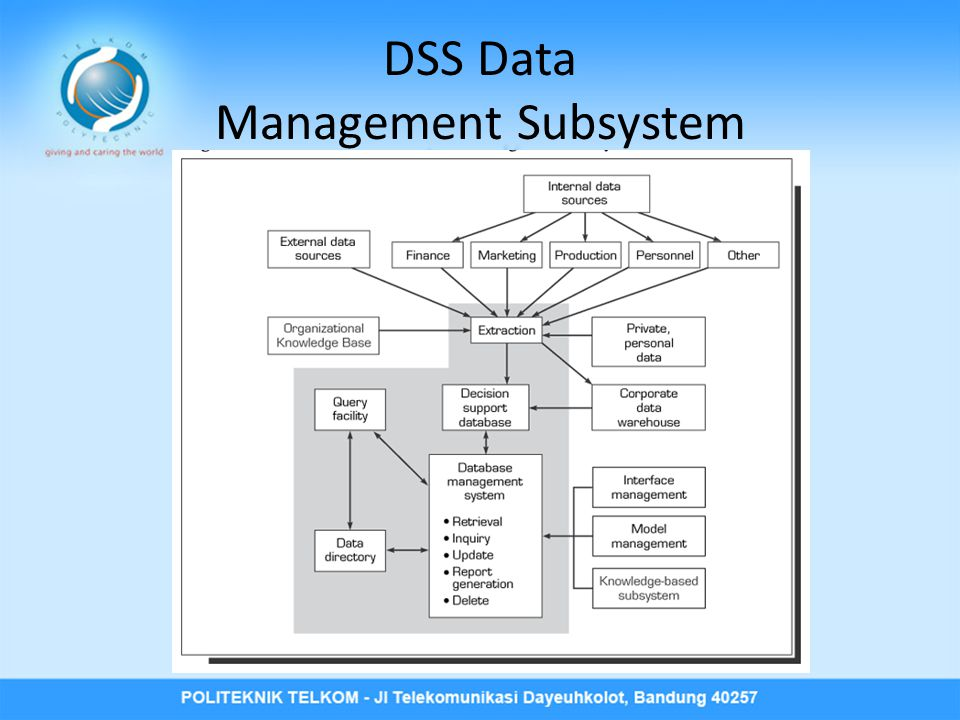 DSS Data Management Subsystem
