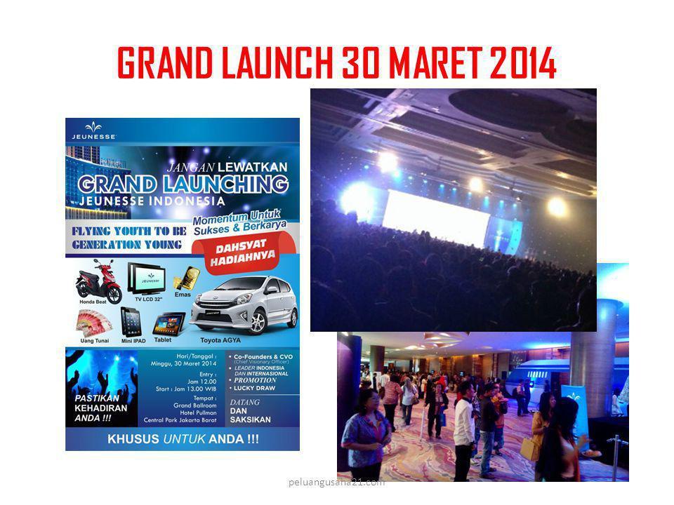 GRAND LAUNCH 30 MARET 2014 peluangusaha21.com