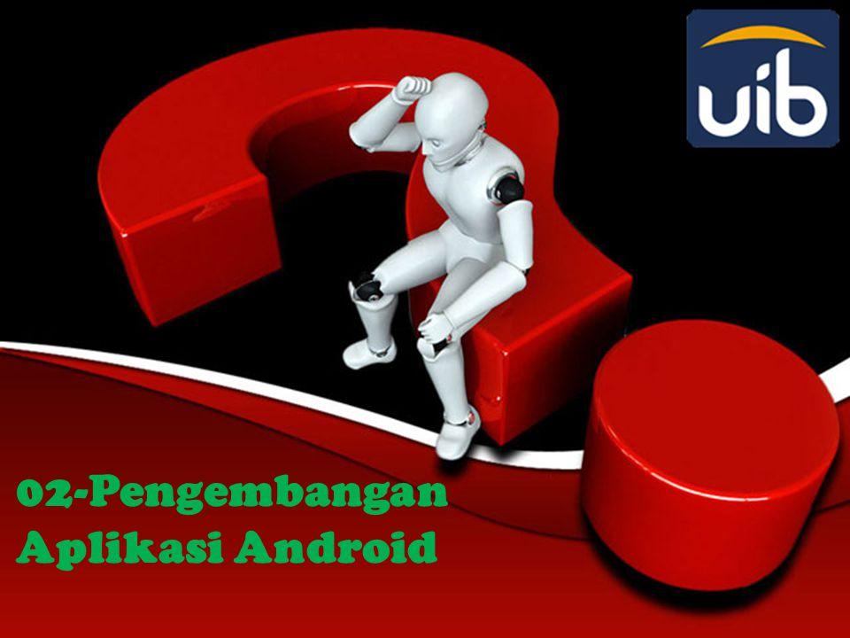 Alasan Membangun Aplikasi Android • Market Share Developer berkesempatan mengembangkan aplikasi untuk pasar yang relatif baru dan berkembang pesat.