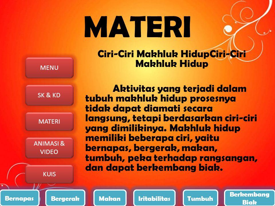 MENU SK & KD MATERI ANIMASI & VIDEO ANIMASI & VIDEO KUIS 3.