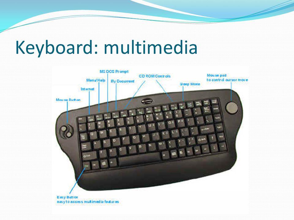 Keyboard: multimedia