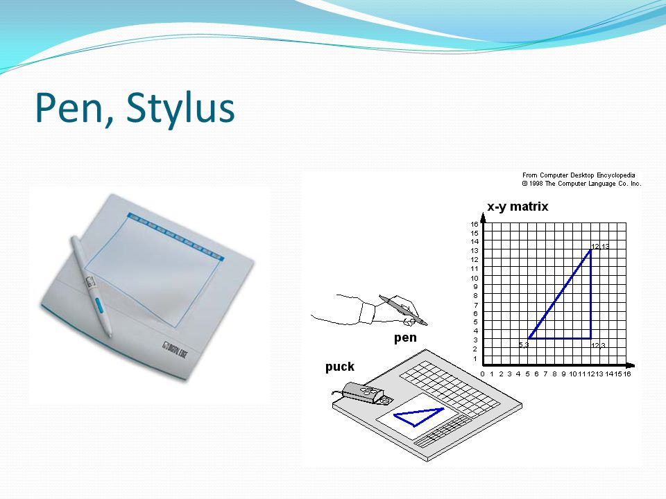 Pen, Stylus