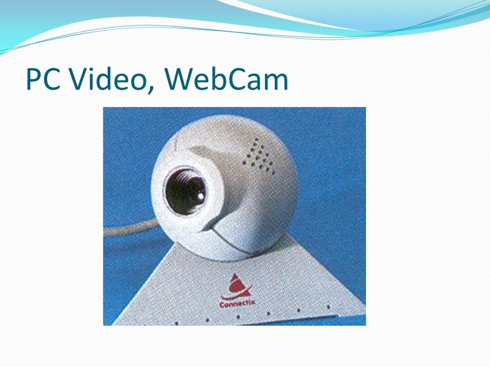 PC Video, WebCam