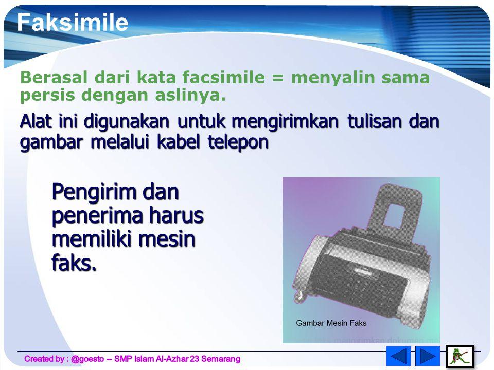 Empat bagian utama telepon yang sangat penting : Mekanisme dialing, Transmitter, Ringer dan Receiver