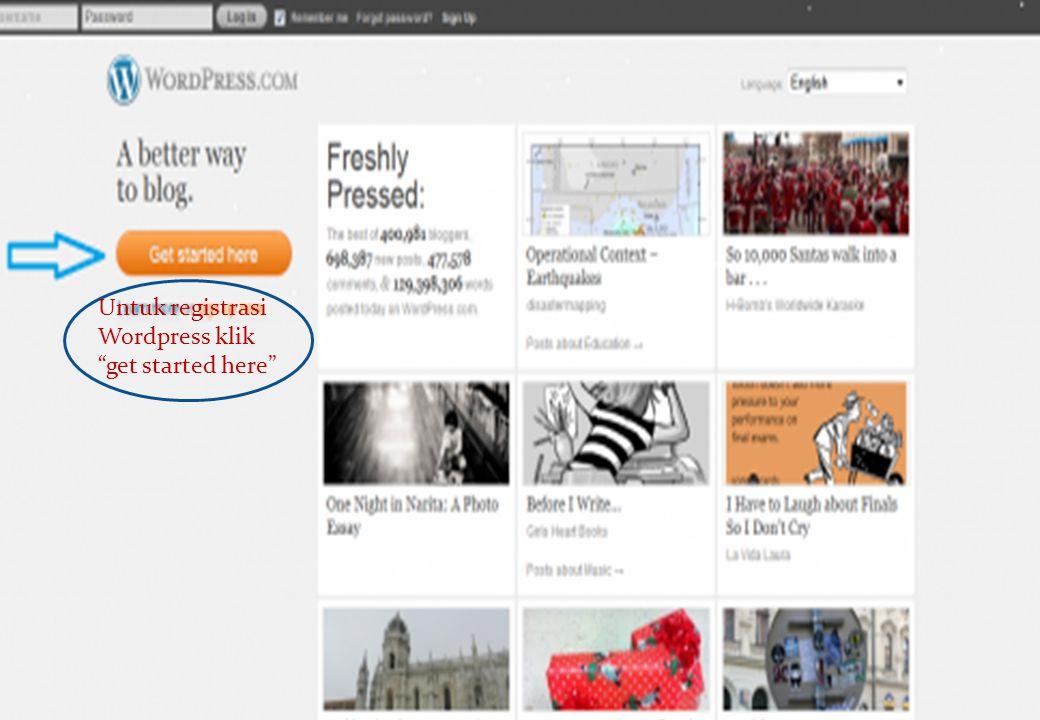3.Isi formulir yang sudah tersedia Kemudian klik Create Blog.