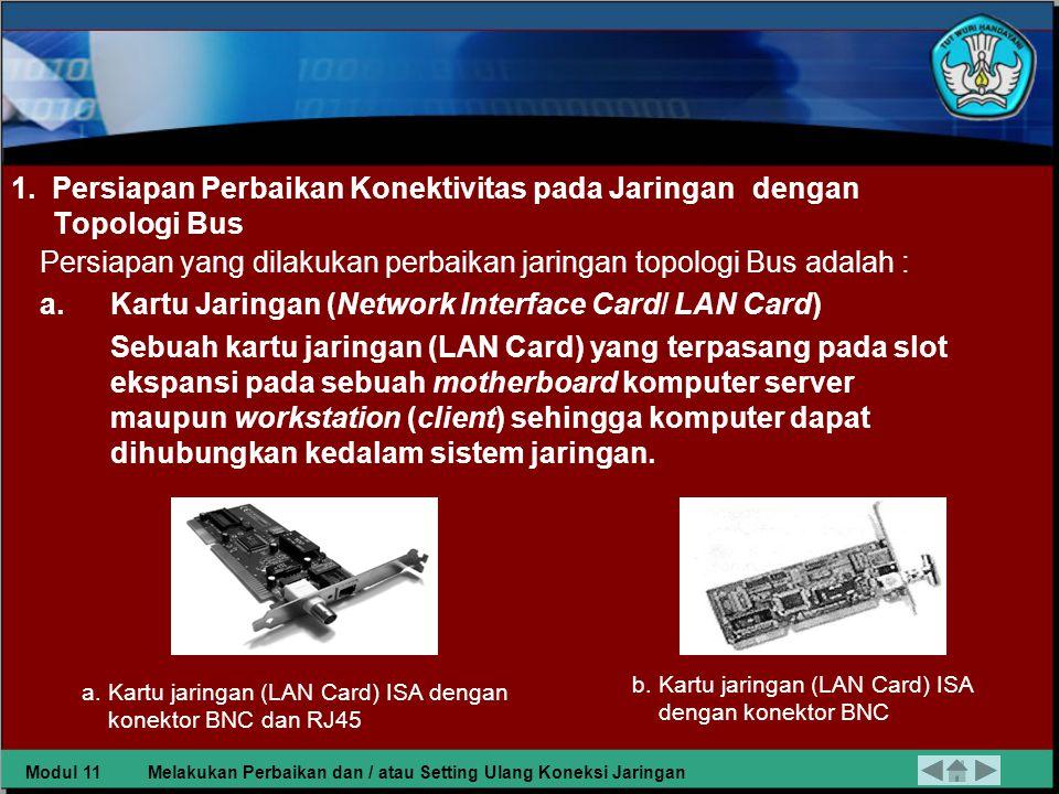 •Mengetahui peralatan-peralatan yang akan digunakan dan dibutuhkan dalam jaringan tersebut.