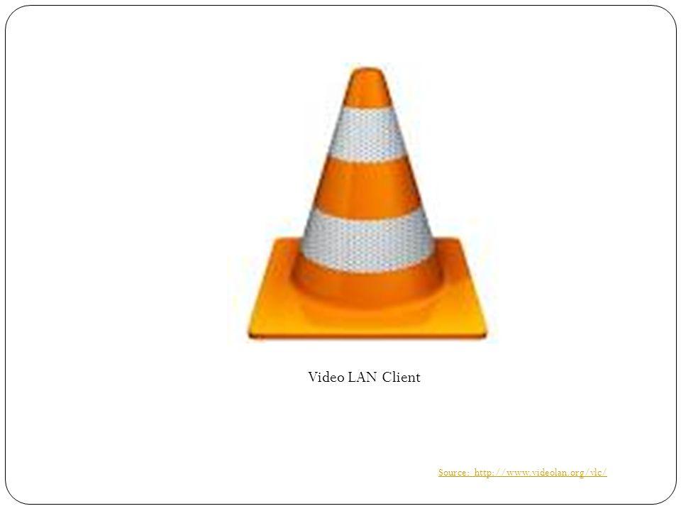VLC  Adalah free open source, dapat digunakan pada berbagai platform multimedia player dan framework, menjalankan berbagai file multimedia, seperti DVD, Audio CD, VCD, dan berbagai streaming protokol