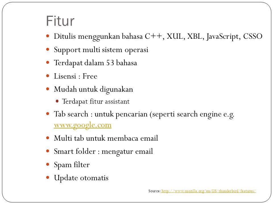 Mozilla Thunderbird vs.Ms. Outlook Mozilla ThunderbirdMs.