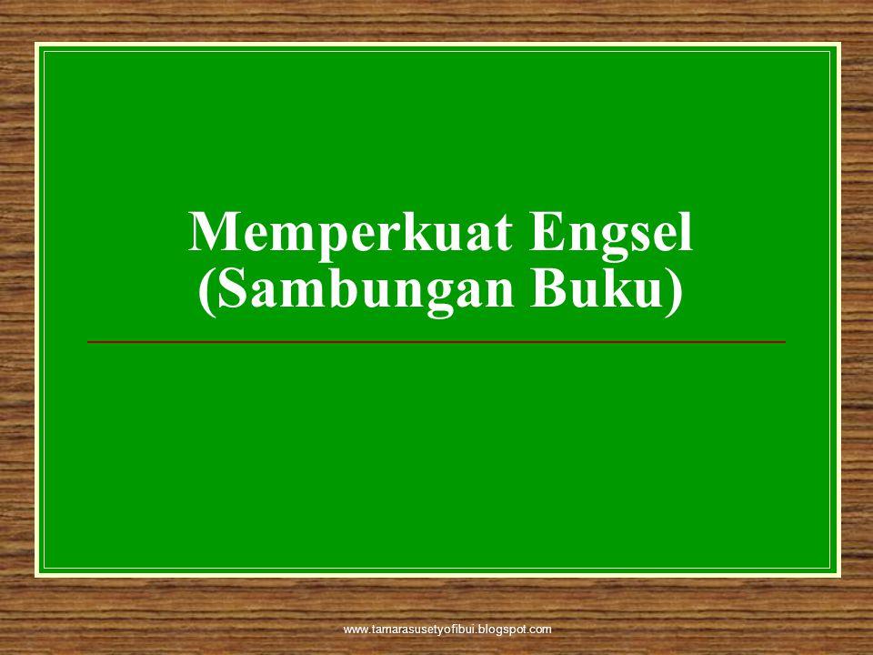 www.tamarasusetyofibui.blogspot.com Memperkuat Engsel (Sambungan Buku)