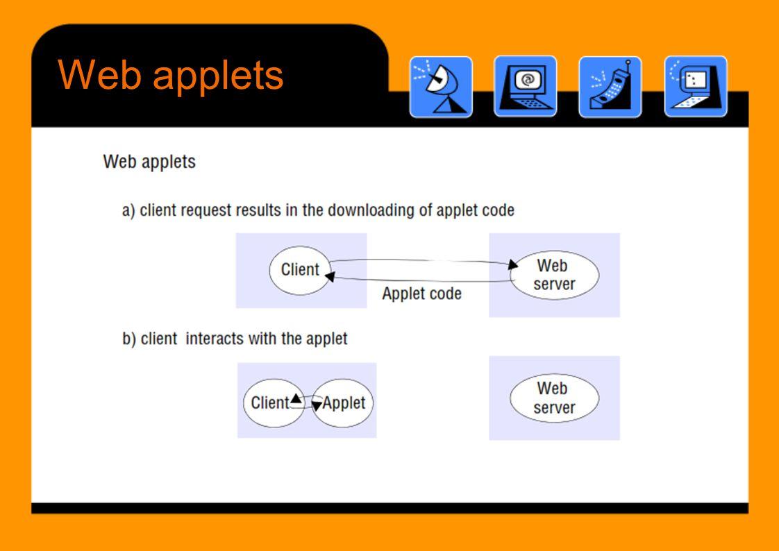 Webapplets