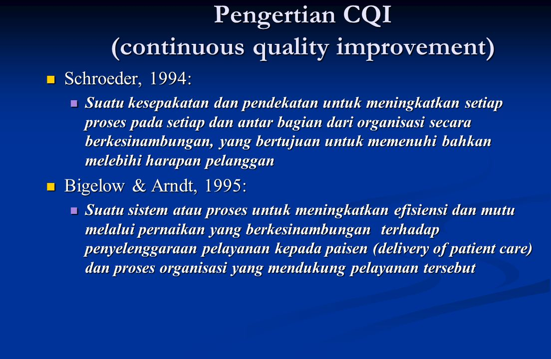 I P O CNRE Process variation Process incapability Un-met Intervensi Services