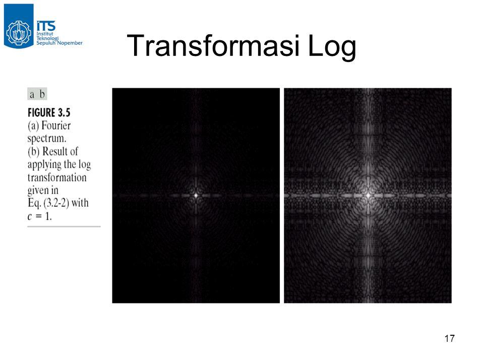 17 Transformasi Log