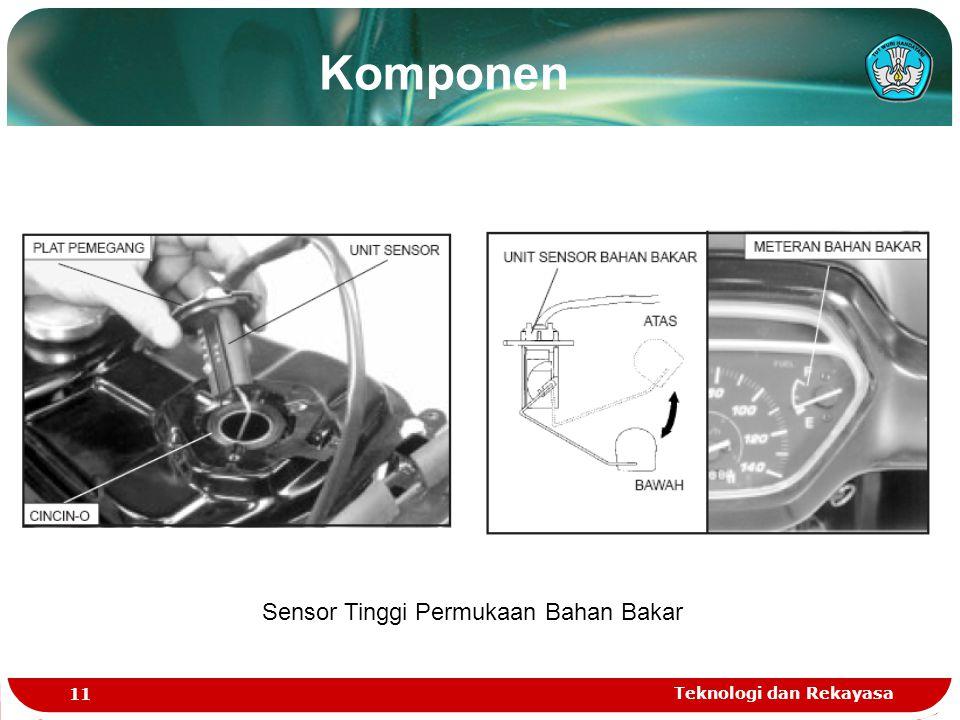 Teknologi dan Rekayasa 11 Sensor Tinggi Permukaan Bahan Bakar Komponen