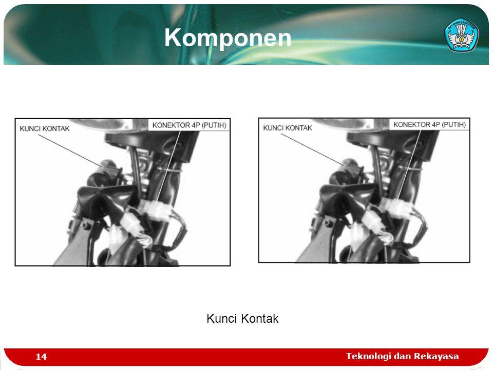 Teknologi dan Rekayasa 14 Kunci Kontak Komponen