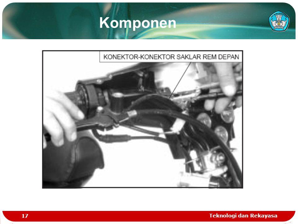 Teknologi dan Rekayasa 17 Komponen
