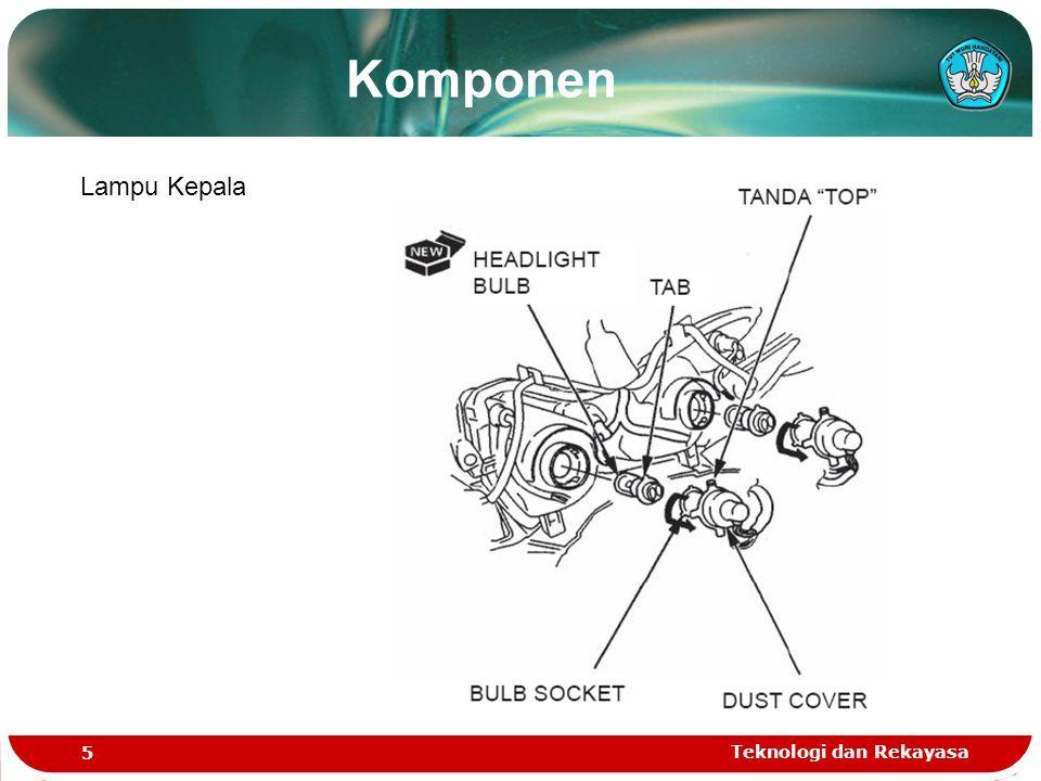 Teknologi dan Rekayasa 16 Komponen