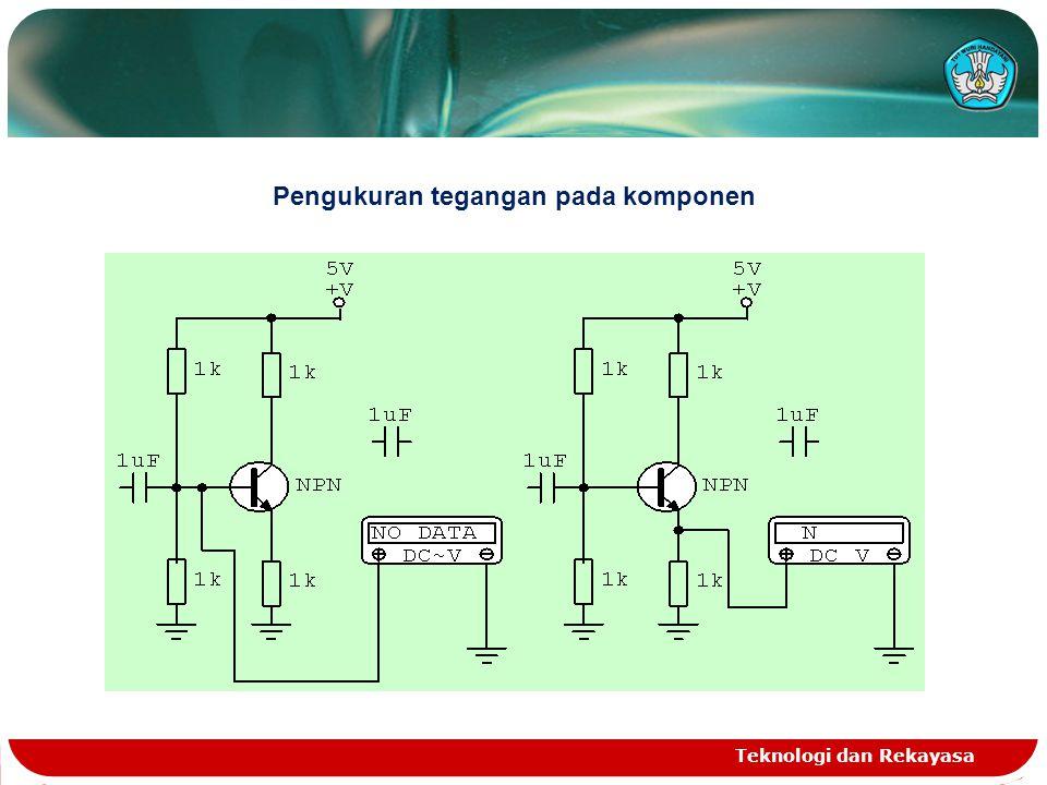 Teknologi dan Rekayasa 5.Mengalokasi kerusakan dengan melacak jalur rangkaian Dengan menggunakan metode obeng yng disentuh dengan telunjuk pada satu titik tertentu, akan diketahui lokasi gangguan yang terjadi pada pesawat penerima radio.