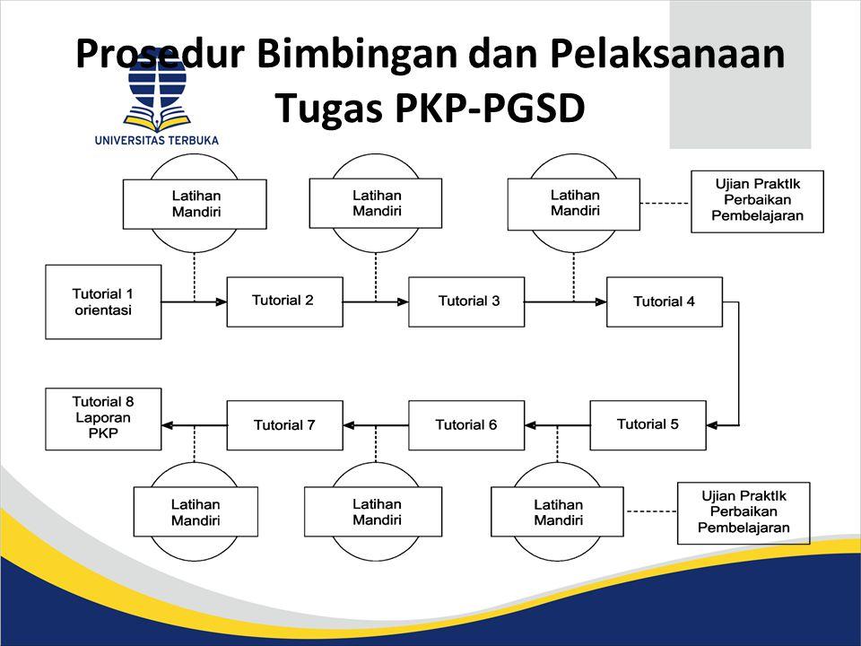 Prosedur Bimbingan dan Pelaksanaan Tugas PKP-PGSD